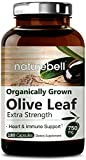 Maximum Strength Olive Leaf Extract 750mg,180 Capsules, Active Polyphenols & Oleuropei, Supports Immune System, Cardiovascular Health, Antioxidant. Non-GMO & Made In USA
