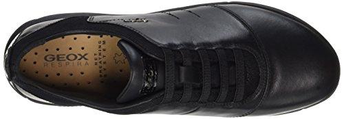 C black black Negro Mujer Zapatillas D Nebula Geox Para 8Swx1qEZ