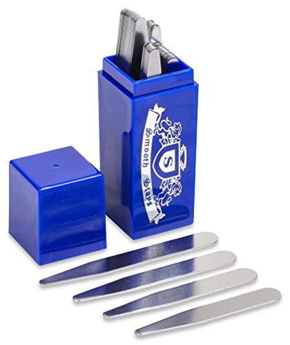 36 Stainless Steel Collar Stays in Sapphire Box, Order the Sizes You Need