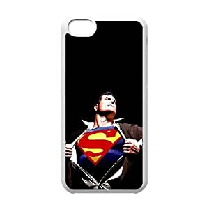 iPhone 5C phone cases White Superman Phone cover NAS3841300