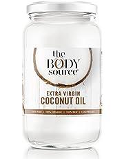 Huile de Coco BIO, 100% Pure, Extra Vierge (1 Litre) – 100% Brute et certifiée biologique