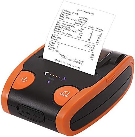 DZSF Impresora portátil Mini Bluetooth 4.0 58Mm Impresora térmica inalámbrica de Recibos para Android iOS Teléfono móvil inalámbrico,A: Amazon.es: Deportes y aire libre