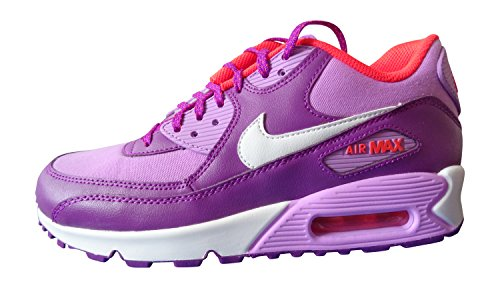 Blanco 90 fuchsia Fille Morado Mesh Max De vvd Glow Multicolore Entrainement Purple gs Running Air White Chaussures Nike OqEw7zx
