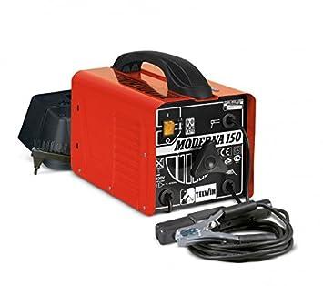 Telwin Moderna 150 - Soldadora electrodos MMA tradicional: Amazon.es: Bricolaje y herramientas
