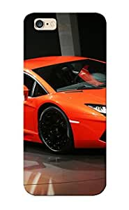 Quality Honeyhoney Case Cover With Lamborghini Aventador Nice Appearance Compatible With iphone 5 5s ()