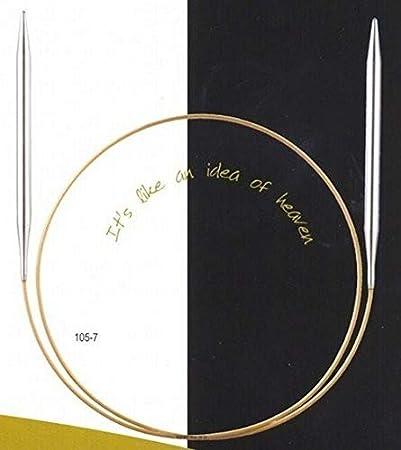 ADDI Aiguilles de tricot circulaires Dor/é 20 cm Diam/ètre 2 mm