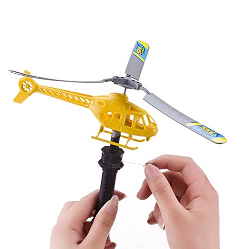 Behkiuoda Cren's Day Gifts for Beginner for Kid (Free Size, Random Color) hristmas Gift Helicopter 3D Funny Outdoor Toy Drone Child