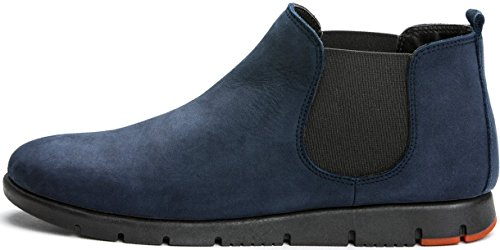 Made Navy Pelle Azul 53h2 Beatles Frau Italy Donna Scarpa In Marino qfdwxZpY