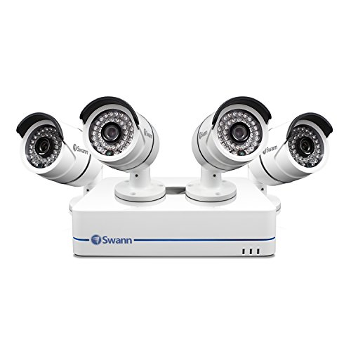 Swann NVR4-7085 4-Channel, 4-Camera Indoor/Outdoor High-Definition DVR Surveillance System SWNVK-470854-US