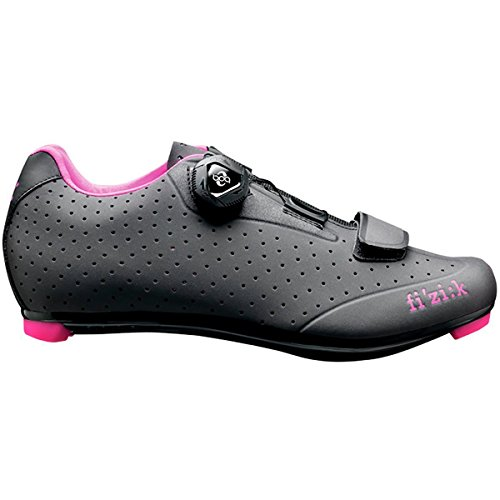 Fizik R5 Donna Boa Shoes - Women's Anthracite/Dark Grey, 38.5