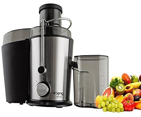 King P1120 Vitamix Exprimidor eléctrico exprimidor fruta Acero Inoxidable Prensa frutas Prensa Nuevo y original)