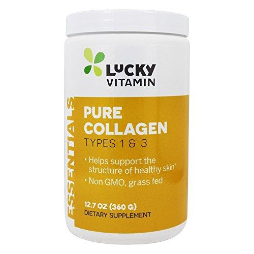 LuckyVitamin - Pure Collagen Powder Types 1 & 3-12.7 oz.
