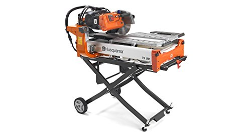 Husqvarna 967285302 TS 90 Tile Saw, 2 hp, 115-230V, 60 Hz Stand Sold Serarately