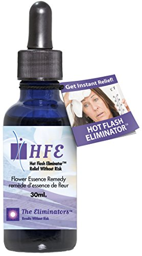 - Hot Flash Eliminator Instant Menopause Relief Stops Hot Flashes, Night Sweats, Mood Swings and Anxiety Using Natural Safe Ingredients (No Estrogens) 1 Bottle