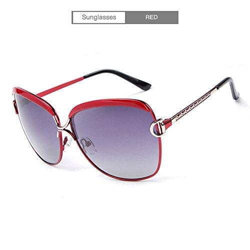 Sol Gafas Con De UV Sra La Protección Polarizadas Red De HD RPqwPH4