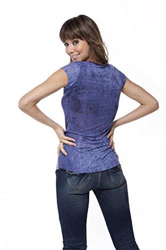 Restposten LENITA Shirt ROMA lila Gr. M 150207 inHgyUPcb