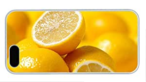 Fashion buy iphone 5 cases Fruit lemons PC White for Apple iPhone 5/5S