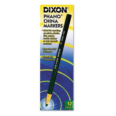 China Marker, Green, Dozen