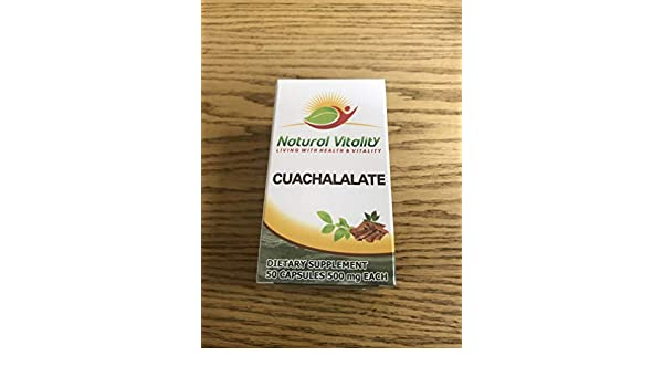 Amazon.com: Cuachalalate Capsules (50 Capsules of 500 mg Each): Health & Personal Care