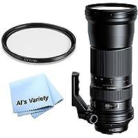 Tamron SP 150-600mm f/5-6.3 Di VC USD Lens Kit for Nikon (A011) - International Version (No Warranty)