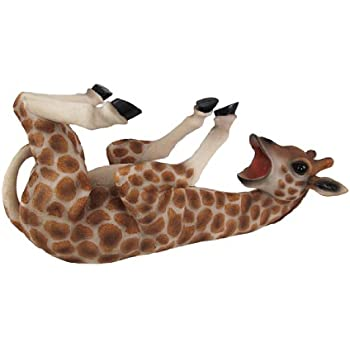 Tall Drink Giraffe Animal Tabletop Single Wine Bottle Holder