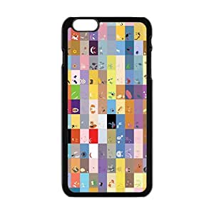 Cool-Benz Lovely square anime cartoon Phone case for iPhone 6 plus