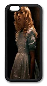 Alice in Wonderland 2010 Alice TPU Silicone Case Cover for iPhone 6 4.7 inch Black