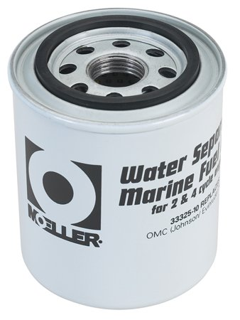 Moeller Water Separating Fuel Filter (Short Water, Mercury/Universal/Yamaha) - Marine Fuel Water Separator