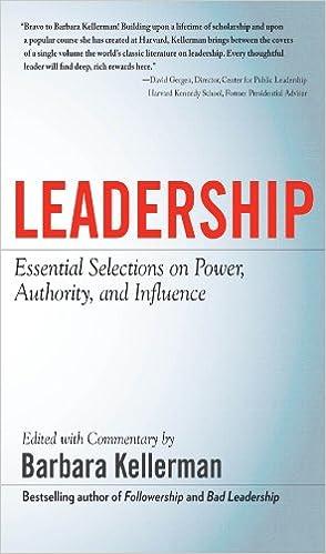 Amazon com: LEADERSHIP: Essential Selections on Power
