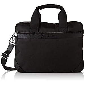 Tommy Hilfiger Men's Elevated Nylon Computer Bag Purse