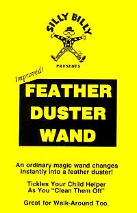 Magic Wand Silly Feather Duster Wand