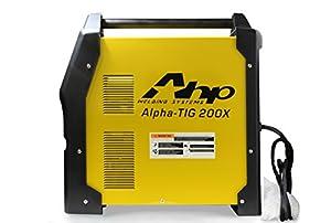 2018 AHP AlphaTIG 200X 200 Amp IGBT AC DC Tig/Stick Welder with PULSE 110v 220v 3 YEARS WARRANTY by AHP