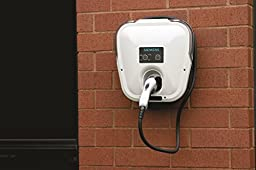 Siemens VC30GRYHW Versicharge 30-Amp electric vehicle charger indoor only, hardwired installation, with a 14 foot cord