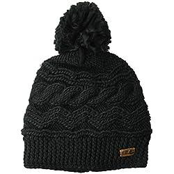 Roxy - Gorro de Nieve para Mujer, Negro (True Black), Talla única