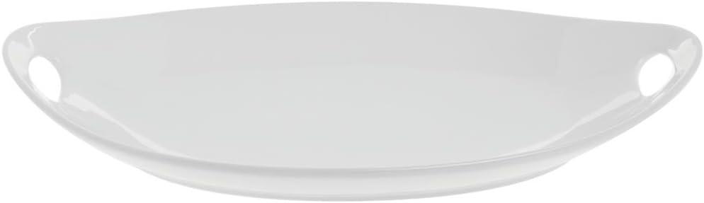 """BIA Cordon Bleu Oval Platter w/Handle, 15"""""""