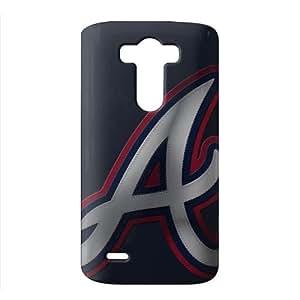 WWAN 2015 New Arrival atlanta braves 3D Phone Case for LG G3