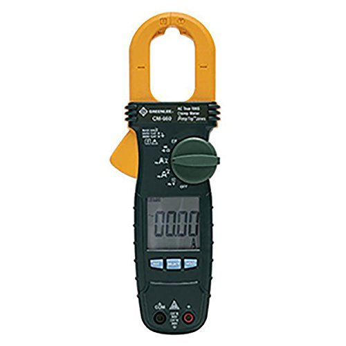 (Greenlee CM-660 General Purpose Clamp Meter, AC, 600-Amp)