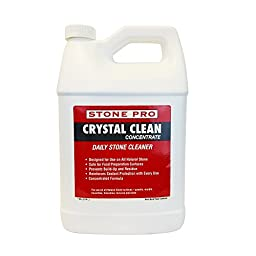Stone Pro Crystal Clean - Daily Stone and Tile Cleaner - Concentrate - 1 Gallon