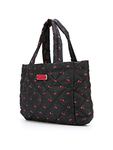 Marc By Marc Jacobs Borsa Shopping Donna M0007643R Poliammide Nero/Rosso