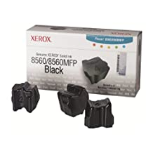 Xerox - 3 - black - solid inks - for Phaser 8560 (108R00726)