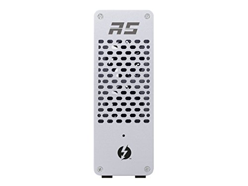 Highpoint RocketStor 6661A Thunderbolt 3 to PCIe 3.0 X16 Expansion ()