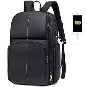 Fresion Large Travel Laptop Backpack – 32L Business Travel Laptop Backpack with USB Charging Port, 15.6-17.3 Inch Water…