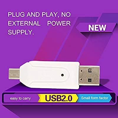 Memory Card Reader Micro USB OTG To USB 2.0 Adapter USB 2.0 SD ...