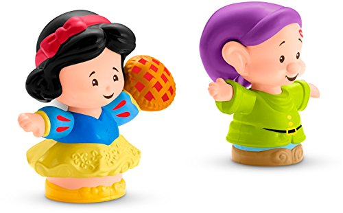 - Fisher-Price Little People Disney Princess, Snow White & Dopey Figures
