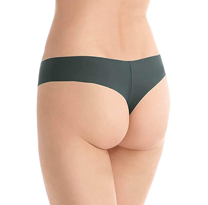 fec1063ab715 commando Women's Butter Mid Rise Thong at Amazon Women's Clothing store: