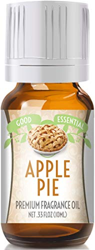 Apple Pie Scented Oil by Good Essential (Premium Grade Fragrance Oil) - Perfect for Aromatherapy, Soaps, Candles, Slime, Lotions, and More!