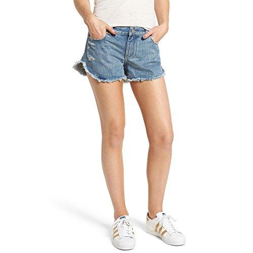 選択する説教櫛(ディーエル1961) DL1961 レディース ボトムス?パンツ ショートパンツ Renee Dolphin Hem Denim Shorts [並行輸入品]