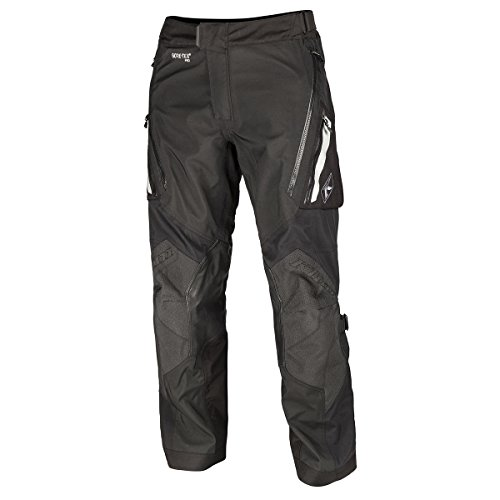 Klim Badlands Pro Men's Street Motorcycle Pants - Black / 34