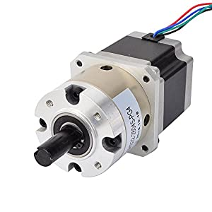 4:1 Planetary Gearbox Nema 23 Stepper Motor 2.8A for DIY CNC Mill Lathe Router from OSM Technology Co.,Ltd.