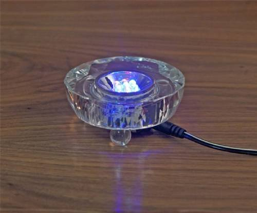 3 Inch Laser Etched Crystal - 2